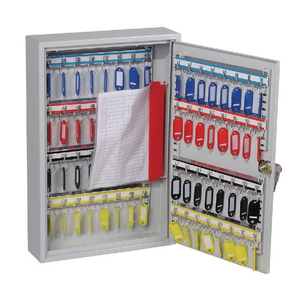 *Lockable 64 Hook Key Cabinet KC0602K