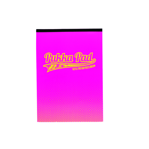 Pukka Halftone Refill A4 Pad Assorted Pack of 6 8200-HLT