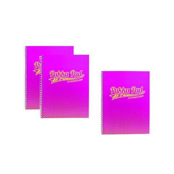 Pukka Halftone Jotta Notebook A4 Assorted Buy 3 Packs for the Price of 2 PP816960