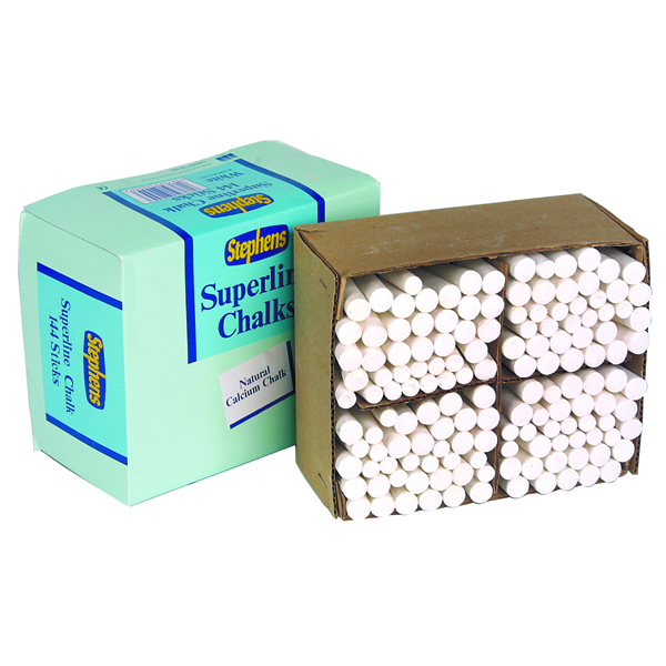 Calalogue - Office Warehouse VOW Stephens White Chalk Sticks (Pack of 144) RS522553