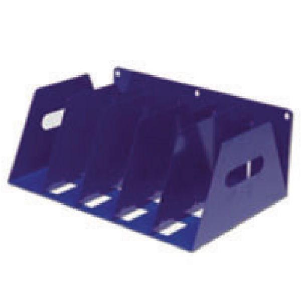 File Sorter Rotadex Blue 5 Section Lever Arch Filing Rack LAR5Blue