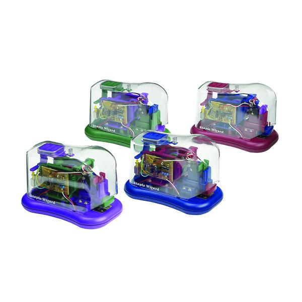Rexel Wizard Battery Stapler 02055