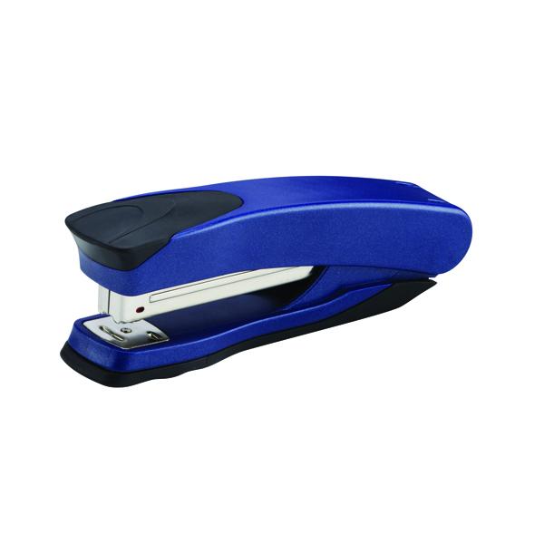 Rexel Taurus Full Strip Stapler Blue/Black 2100005