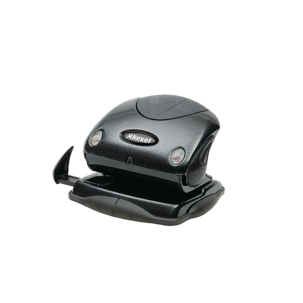 Rexel Precision P215 2 Hole Punch Black 15 Sheet 2100740