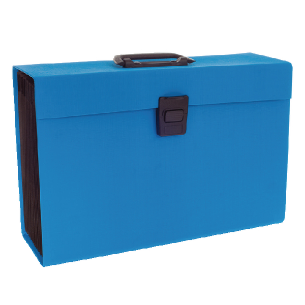 Rexel Joy Expanding Box File Blissful Blue 2104019
