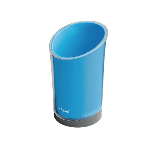 Rexel Joy Pen Cup Blissful Blue 2104029