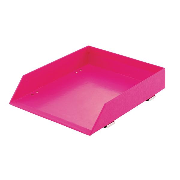 Rexel Joy Letter Tray Pretty Pink 2104196