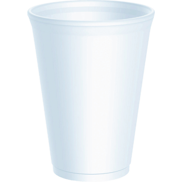 Smooth Insulated Cups 10oz White (Pack of 20) RY30110