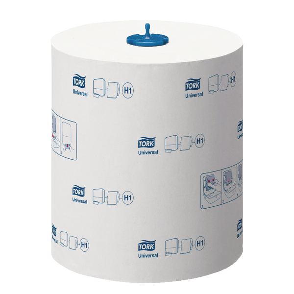 Tork Matic Extra Long Hand Towel Roll Universal 2 Ply 280m White 290059 Pack of 6