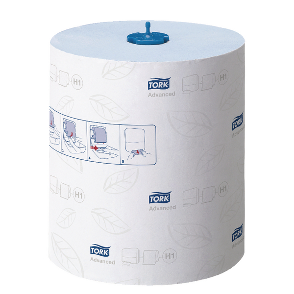 Tork Matic Hand Towel Roll 150m Blue 2 Ply (Pack of 6) 290068