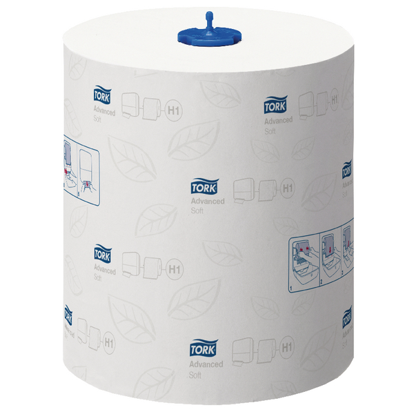 Tork Matic Soft Hand Towel Roll 2 Ply 150m White 290067 Pack of 6