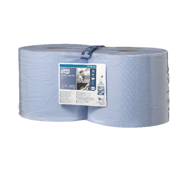 Tork Blue Roll 2 Ply Pack of 2 130052