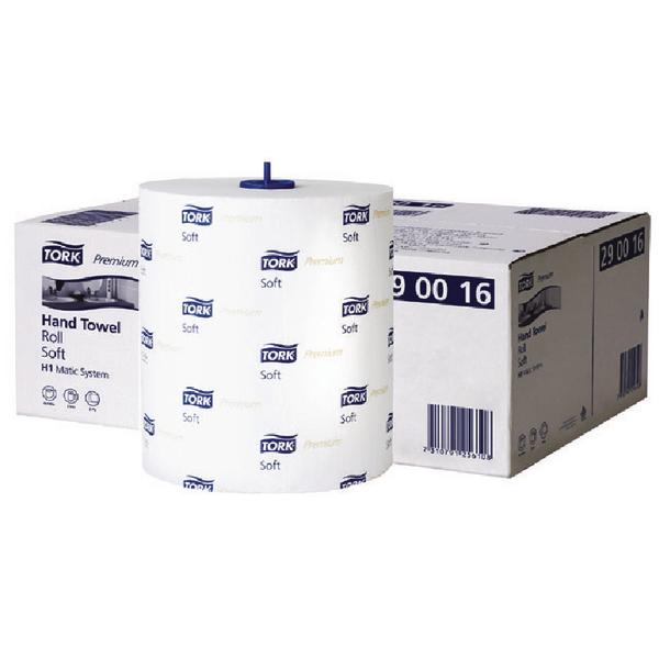 Tork Matic Soft Hand Towel Roll 100m (Pack of 6) 290016