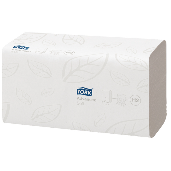 Tork Xpress Multifold Hand Towel 2 Ply 240x213mm White 120225 Pack of 21