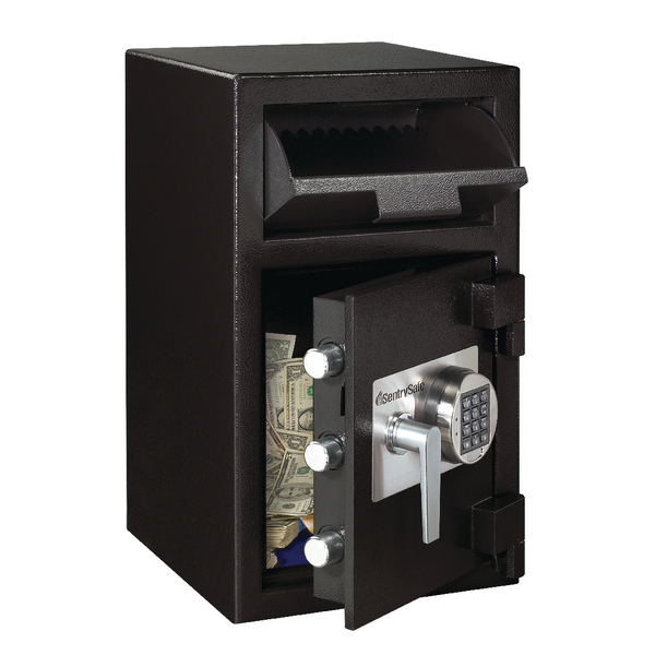 *Master Lock Deposit Under Counter Safe 36.8 Litres Black DH-109E