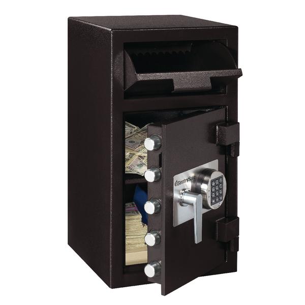 *Master Lock Deposit Under Counter Safe 45.3 Litres Black DH-134E