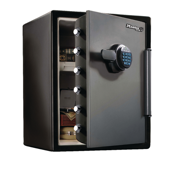 *Master Lock Fire-Safe Water Resistant 56 Litre Electronic Lock LFW205FYC