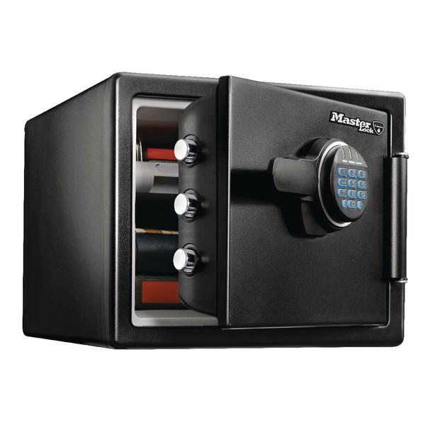*Master Lock Fire-Safe Water Resistant Safe 22 Litre LFW082FTC