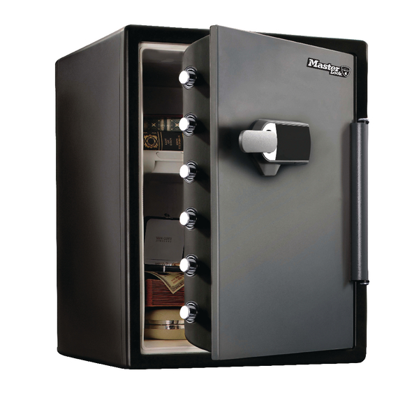 *Master Lock Electronic Water-Resistant Fire-Safe 56 Litre LFW205TWC