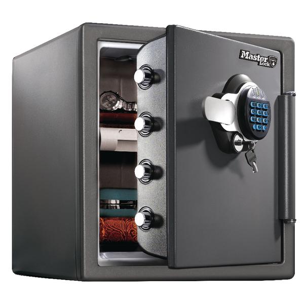 *Master Lock 120 Fire-Safe Water Resistant XL 34.8 Litre Black LTW123GTC