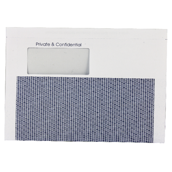 Custom Forms Sage Tape Seal Payslip Mailers 100gsm (Pack of 500) SE100