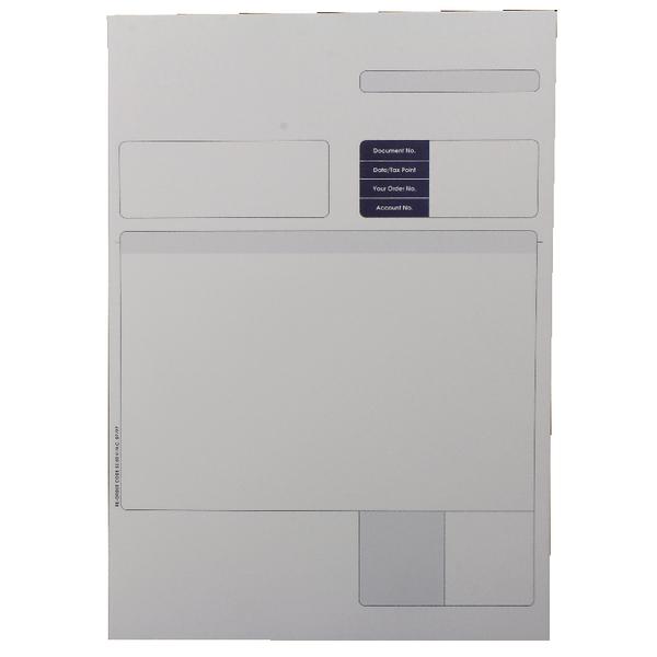 Custom Forms Sage 1-Part A4 Laser Invoices 90gsm (Pack of 500) SE80S