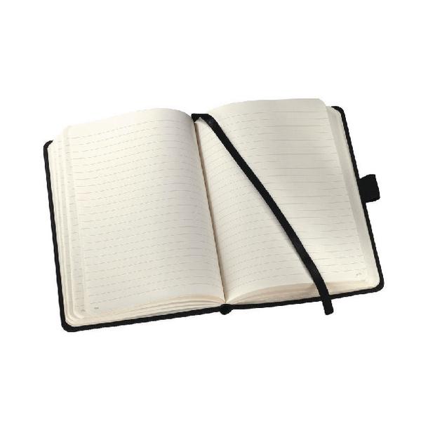 Sigel Conceptum Softwave Notebook Lined 148x213x20mm Black CO122