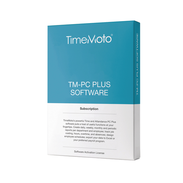 *Safescan TimeMoto PC Software Plus (Retail Pack) 139-0600
