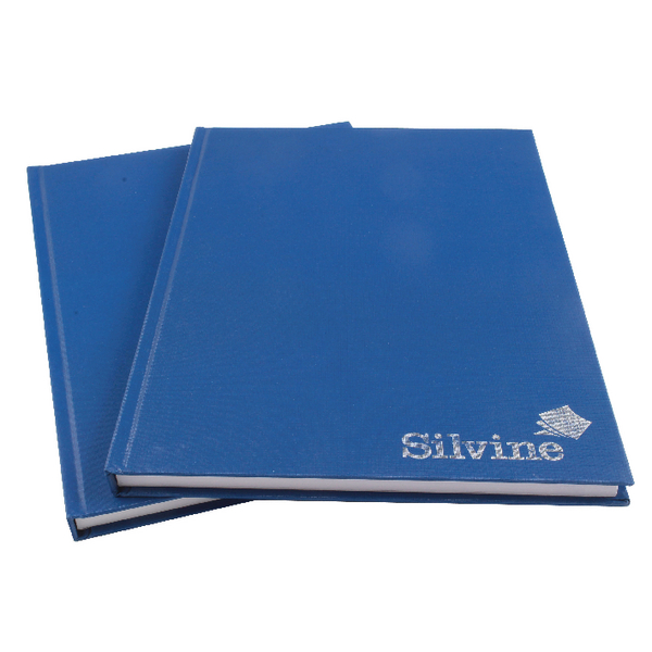 Silvine 96 Leaf Ruled Feint A4 Manuscript Book (Pack of 6) CBA4
