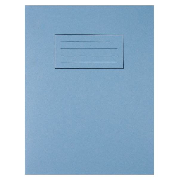 Silvine Feint Ruled With Margin Blue 229x178mm Exercise Book 80 Pages (Pack of 10) EX104