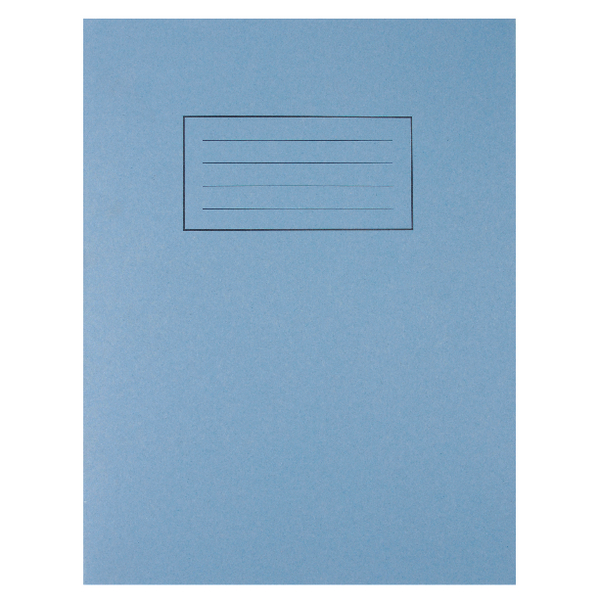 Silvine 7mm Squares Blue 229x178mm Exercise Book 80 Pages (Pack of 10) EX106