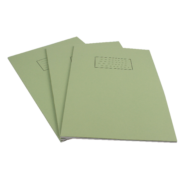 Silvine Ruled Feint With Margin Green A4 Exercise Book 80 Pages EX110