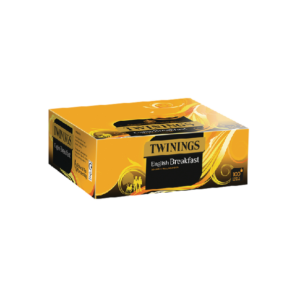 Twinings English Breakfast String and Tag (Pack of 100) F14557