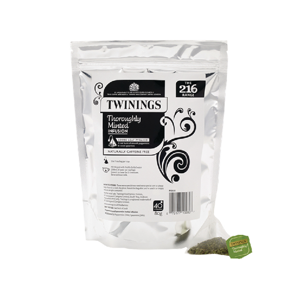 Twinings Thoroughly Minted Pyramid (Pack of 40) F12532