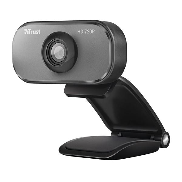 Trust Viveo 720P HD Black /Aluminium Webcam 20818