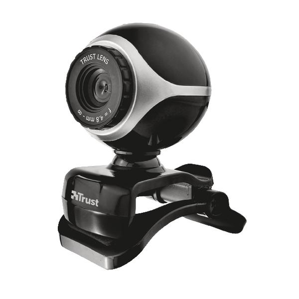 Trust Exis Webcam Black /Silver 17003