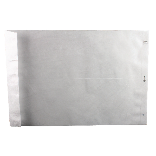 Tyvek Envelope 483x330mm Peel and Seal White (Pack of 100) 558224
