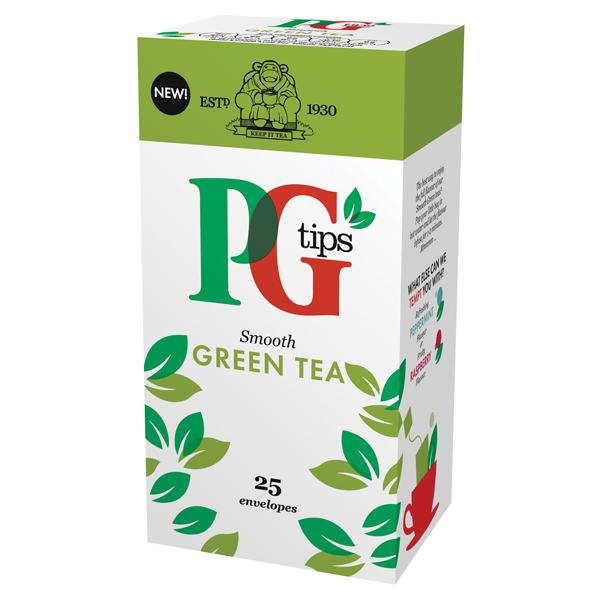 PG Tips Green Tea Envelope 29013901