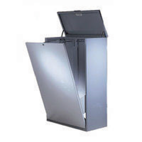 Vistaplan Grey A0 Standard Metal Plan File Cabinet E09451