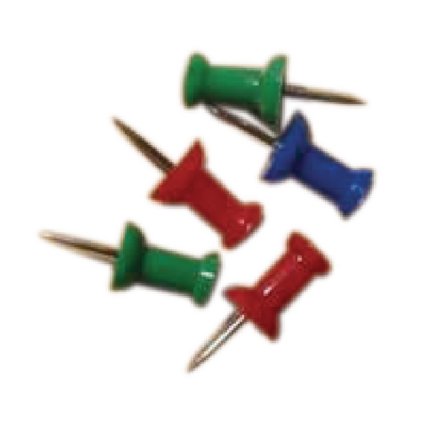 Push Pins Assorted (Pack of 20) 20471