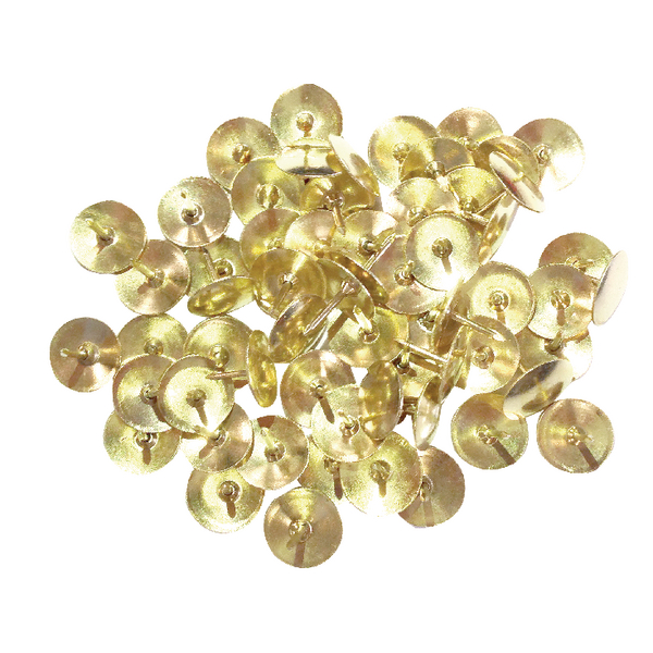Brass 9.5mm Drawing Pins Pack of 1000 34231