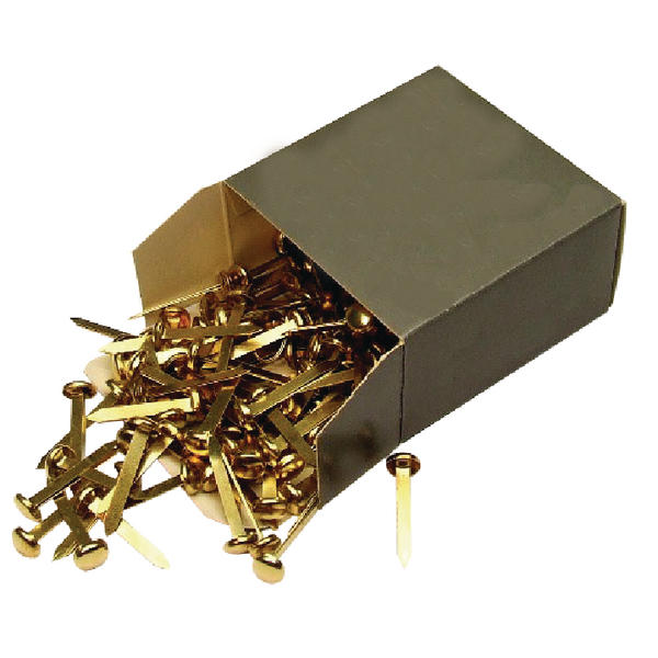 Brass Paper Fastener 40mm Pack of 200 36671