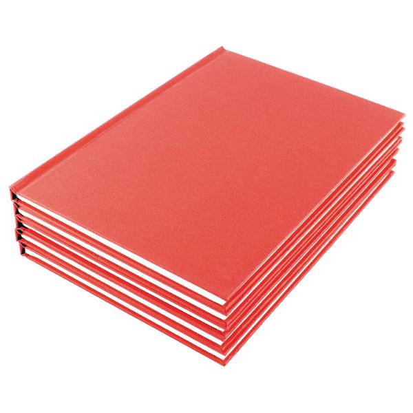 Manuscript A4 Book Ruled Feint (Pack of 5) WX01060