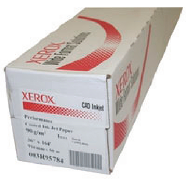 Xerox PerFormance White 914mm Coated Inkjet Paper Roll XR3R95784