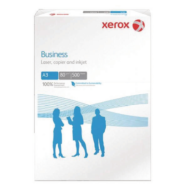 Xerox Business A3 White 80gsm Paper Pack of 500 003R91821