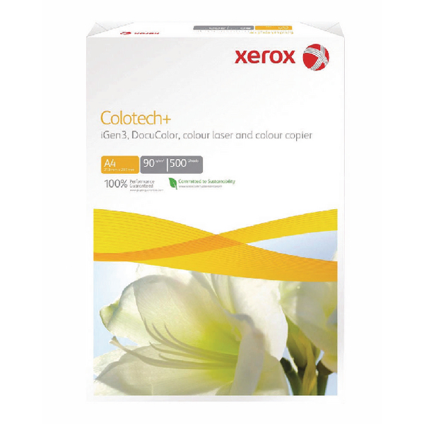 Xerox Colotech+ A4 White 160gsm Paper (Pack of 250) 003R98852