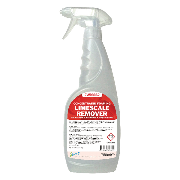 Kitchen/Washroom Cleaning 2Work Concentrated Foaming Limescale Remover 750ml 524