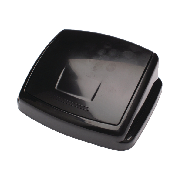 Rubbish Bins 2Work Swing Bin Lid 30 Litre Black 2W02394