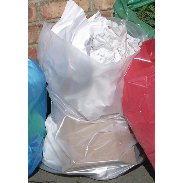 Binliner/Bags 2Work Polythene Bags On a Roll Clear (250 Pack) 2W06255