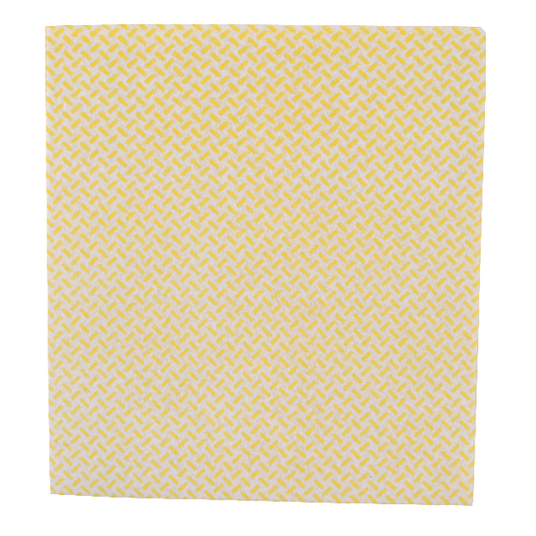 2Work Med Weight Cloth 380x400mm Yellow (5 Pack) CCYM4005I